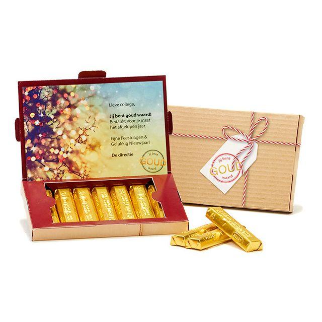 Gouden Kerststaven