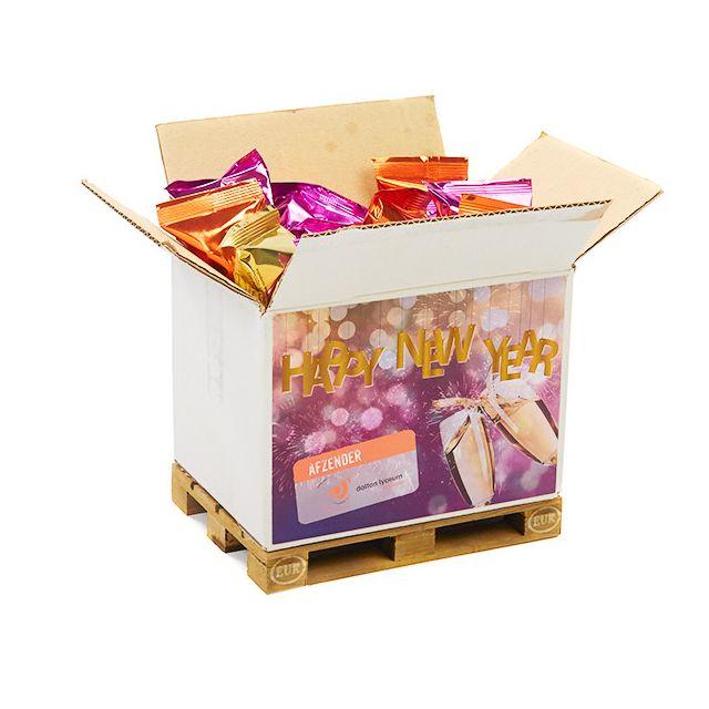 Mini europallet inclusief Fortune Cookies