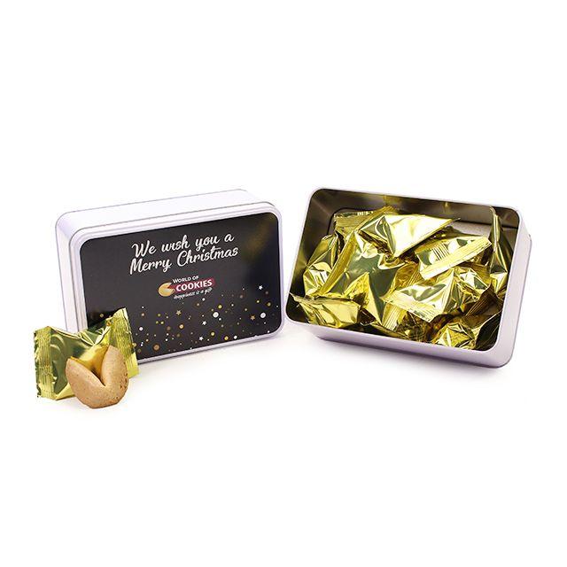 Fortune Cookies in geschenkblik