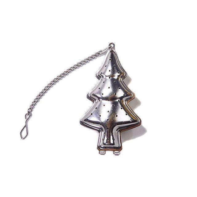 Kerstboom thee infuser