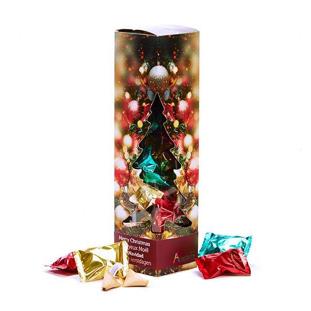 Kerst geschenkdoos met Fortune Cookies