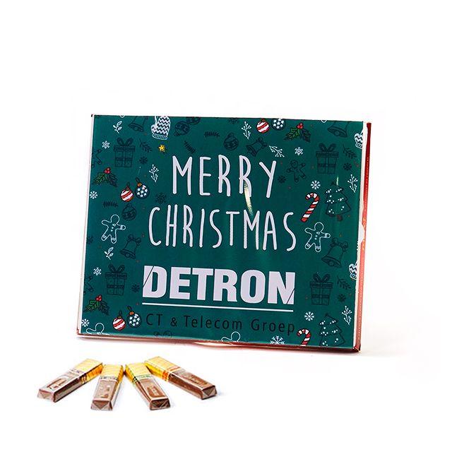 Merci als kerstkaart