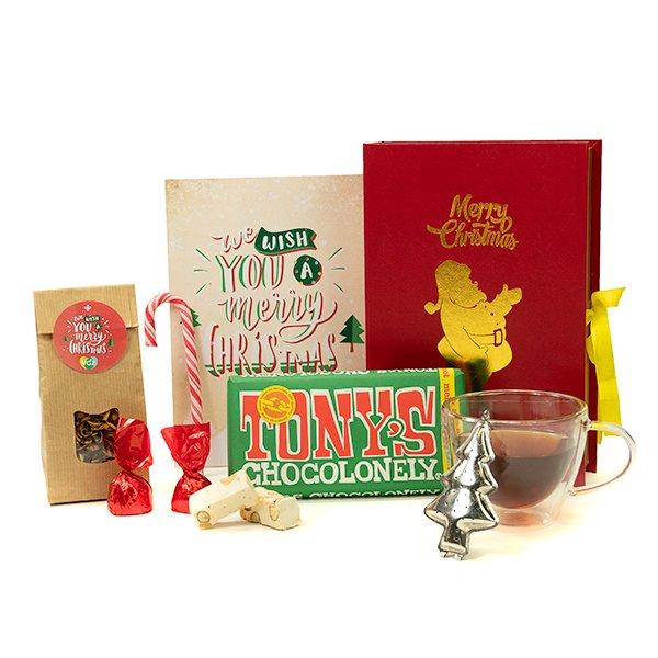 Kerstboek met lekkers 2