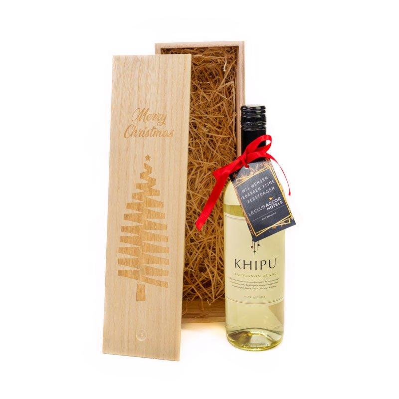 Khipu Chardonnay in kerstboomkist