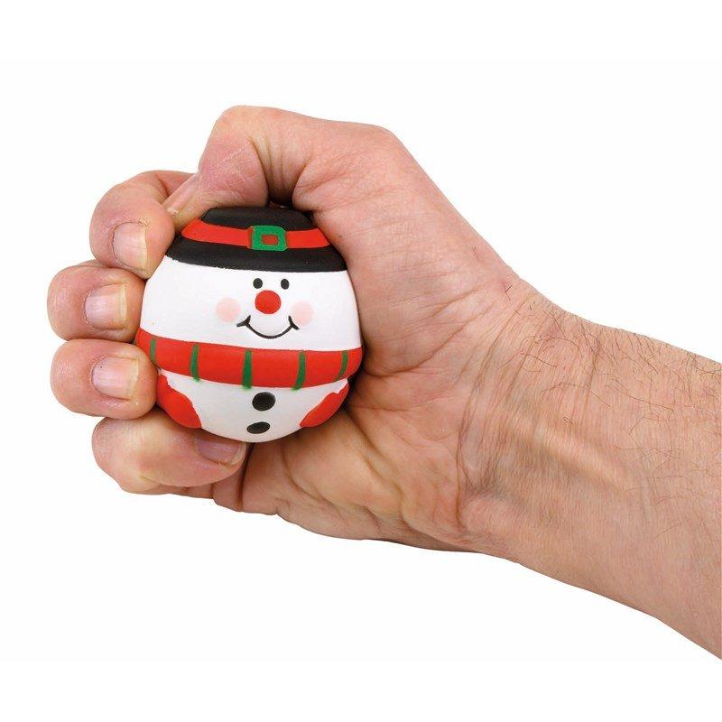 Kerst Stressbal (Sneeuwpop)